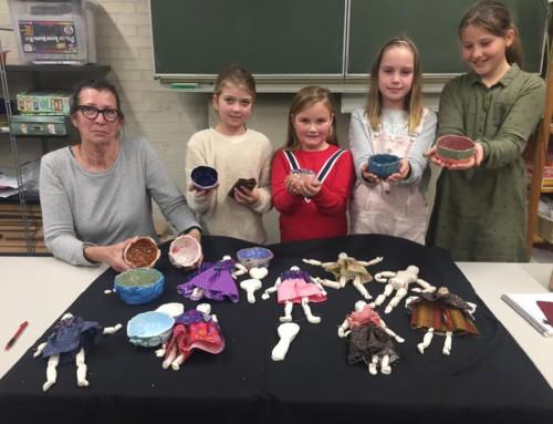 KunstExpeditie 'Verf en penseel' op basisschool 't Kofschip