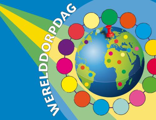 Werelddorpdag-vlag 20 – 24 april