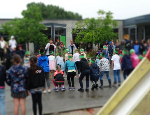 Dansen op basisschool De Wetering
